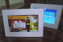 """battery operated 7"""" digital photo frame with wifi 1080P function"""