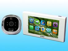 Wholesale 4.7 Inch High Definition Movement detecting digital door peephole viewer