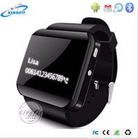 Factory Wholesale Android Waterproof Bluetooth U Watch Phone for Sumsung
