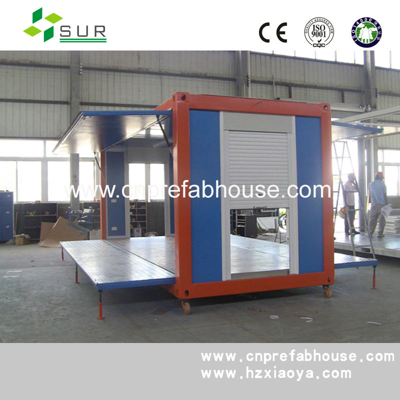 China quick build movable prefab container house container - Quick build houses ...