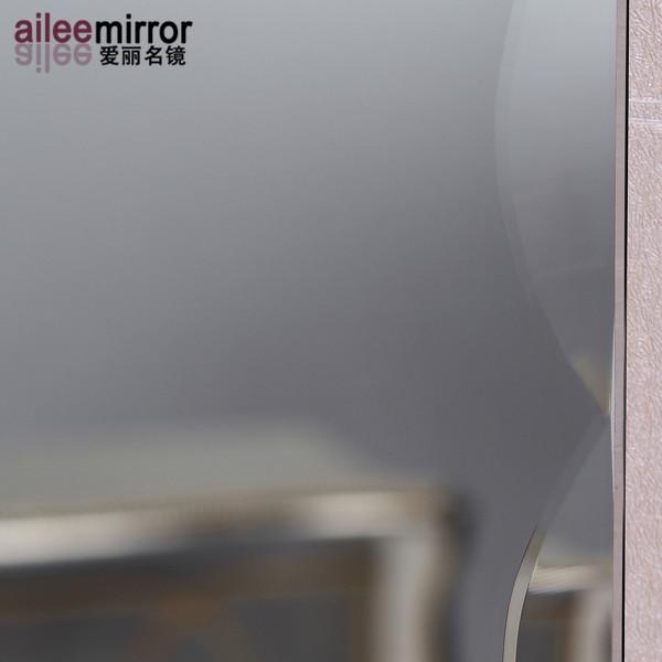 Ultimo disegno cina oem bagno parete a specchio argento bagno con ...