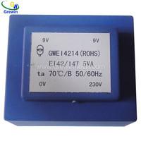 input 230Vac output 24Vac 8VA Encapsulated transformer 50hz-60hz low frequency transformer