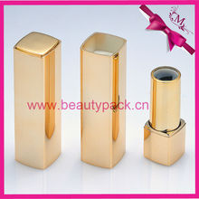 square plastic lipstick case with spring