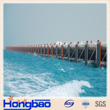 green color uhmwpe pads for marine fender system,plastic dock block,marine bore worm resistant pe fender pad