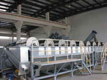 500kg/hr PP PE Film Washing Line