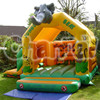 china manufacturer inflatable jungle bouncy combo, inflatable jumping castle slide combo
