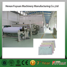 new condition cultural paper/ carbonless paper production line
