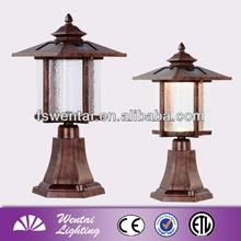 LED Decoraitve Lamp / Antique Solar Pillar Light