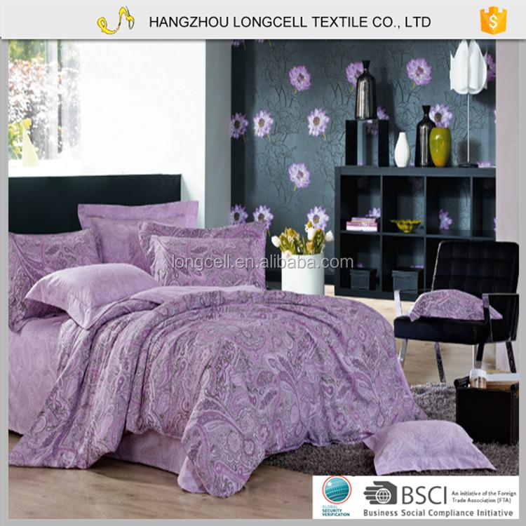 Moderna copertura in poliestere marca consolatore lenzuolo set di biancheria da letto