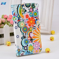 Watercolor Flip Leather PU Wallet Stand Case Cover For Multi Phone For Sumsung S5