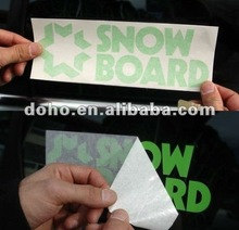 Wholesale Full Colors custom die cut stickers and custom car decals, Removable car sticker printing --- DH 0275