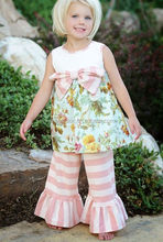 giggle moon remake blouse and ruffle pant for baby girls clothing sets child kids girls outfits