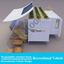 Koolbox modern living 20ft container house luxury,cabin container house ,container house with wheels