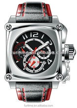 square shaped man watch special design oem hot sale!!