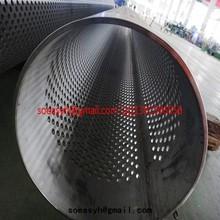 Tubo perforado/tubo perforado/plaza perforada tubo de la pipa