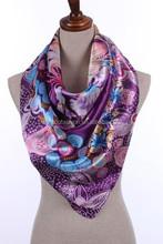 Newest Fashion Style Digital Printing Silk Scarf