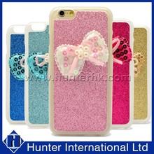 New Design Lovely Bow Diamond Gel Case For iPhone 6