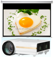 remote video projector screen