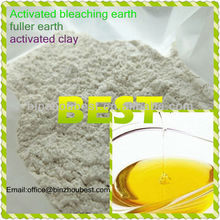 2014 Free Sample ,fuller bleaching earth for Soya Bean Oil bleaching
