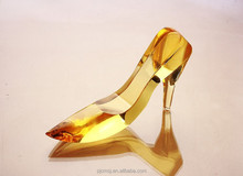 crystal wholesale , elegant crystal shoes for wedding thank you gifts