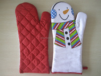 100% cotton oven glove and pot holder