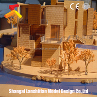 urban model, Architectural model of apartment