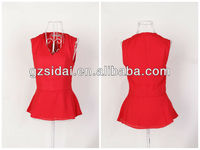 wholesales awear extra quantity wome shooting reflective chiffon vest mix size with quick delivery