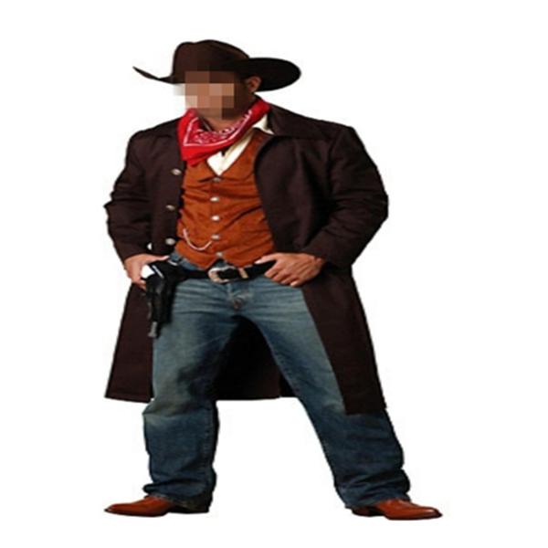 Moda batı <span class=keywords><strong>kovboy</strong></span> cosplay parti kostüm için adam