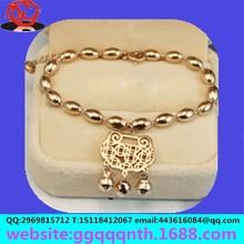 Craft gift decoration products children bracelet mascot deserve golden bell hanging pendant OEM&ODM Manufacturers wholesale