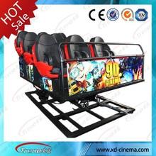 Newest Mobile snow park equipment 5D cinema