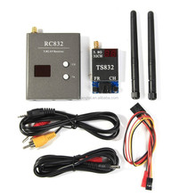 Boscam 32Ch 5.8G 600mw 5km Wireless AV Transmitter TS832 Receiver RC832 for FPV
