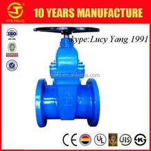 non rising stem gate valve ductile iron gate valve