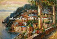 Hot sale nice handmade seascape oil painting