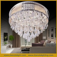 luxury hotel and home crystal ceiling ceiling led fixture&cheap chandelier lighting