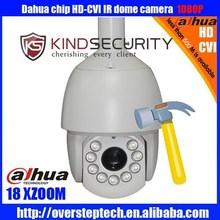 HD 1080P HDCVI Camera Outdoor IR Security Waterproof CVI PTZ Dome Camera