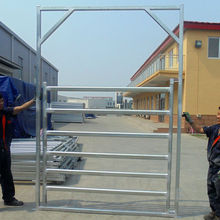 Factory direct sale galvanized cattle fence gate
