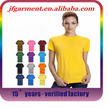 Wholesale high quality 100 cotton cheap wholesale blank t shirts, blank women t shirts, wholesale blank t shirts for printing