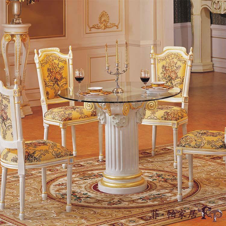 feine franz sisch m bel esszimmer gesetzt italienische m bel. Black Bedroom Furniture Sets. Home Design Ideas