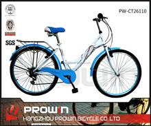 """2015 26""""7 speed CHEAP cruiser bike city bikes (PW-CT26100)"""