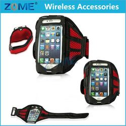 "Customs Universal 4.7"" Mesh Design Breathable Jogging Sports case For iPhone 4/ 4s /5 /5S/ 5C Smartphone Deluxe Armband"