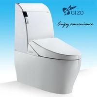 european bathroom accessories Intelligent One piece Ceramic toilet price