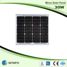 30W 125*41.7MM The Lowest Price Solar Panel From Singfo