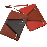 Fashional design high quality leather smart case for ipad air 2