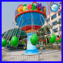 Theme Park Attractions!! Flying Fruit Chair Rides Amusement Games