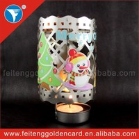 fashion designed factory direct sale drum shape candle holder