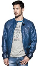 Glo-story cheap faux leather jackets for men