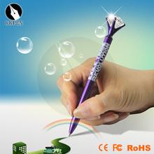 Jiangxin 2014 new mini hiddren mini flat pen with led light