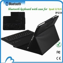 swivel rotate wireless bluetooth keyboard case for ipad 2 3