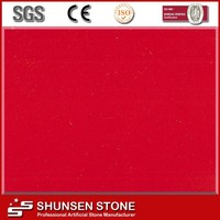 decorative artificial stone for interial wall red kitchen countertop