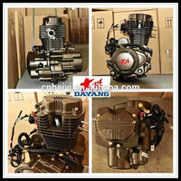Single Cylinder 4 Stroke Air Cooled Loncin 200cc Motorcycle Engine Assembly